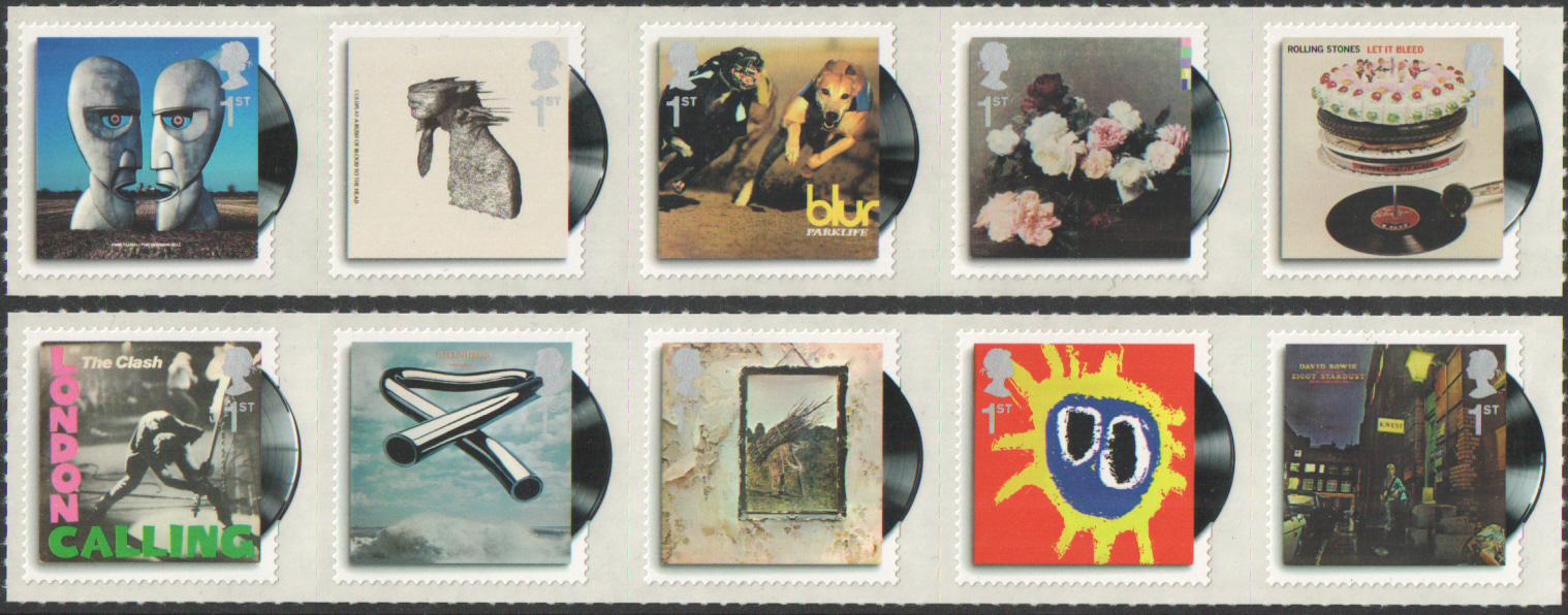 SG2999 / 08 2010 Classic Album Covers unmounted mint set of 10