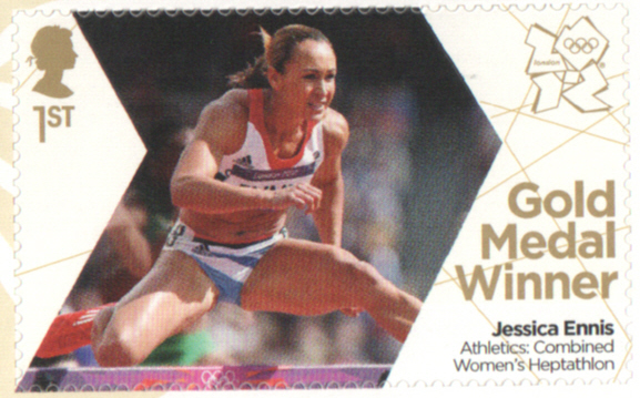 SG3353 Jessica Ennis London 2012 Olympic Gold Medal Winner stamp