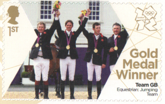 SG3358 Brash, Charles, Mayer & Skelton London 2012 Olympic Gold Medal Winner stamp