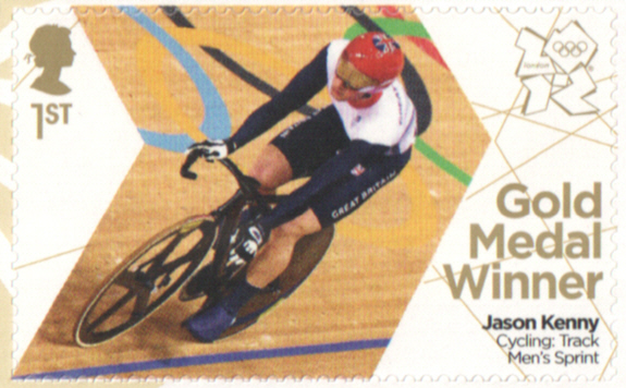 SG3359 Jason Kenny London 2012 Olympic Gold Medal Winner stamp