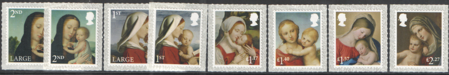 SG4019 / 26 2017 Christmas unmounted mint set of 8