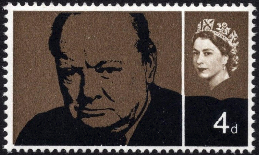 SG661a Timson 1965 Winston Churchill unmounted mint