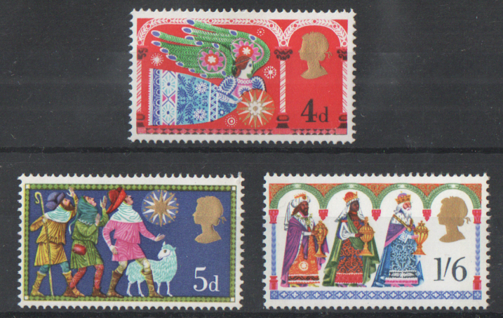 SG812 / 814 1969 Christmas unmounted mint set of 3