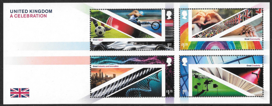 MS(TBC) 2021 United Kingdom - A Celebration non-barcoded miniature sheet