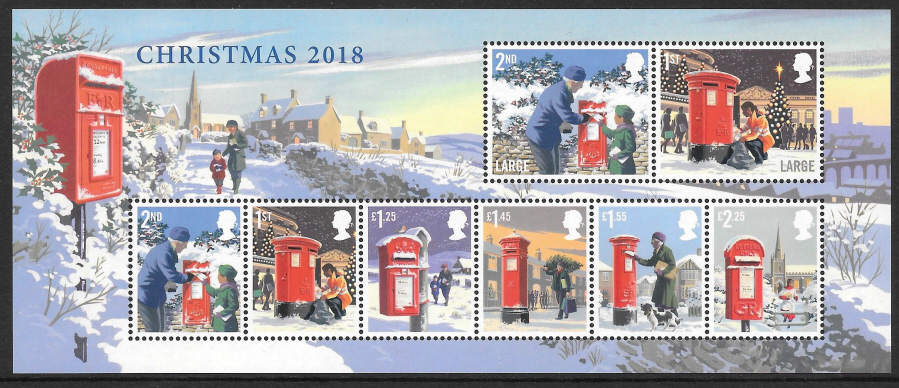 MS (TBC) 2018 Christmas Non-Barcoded Miniature Sheet