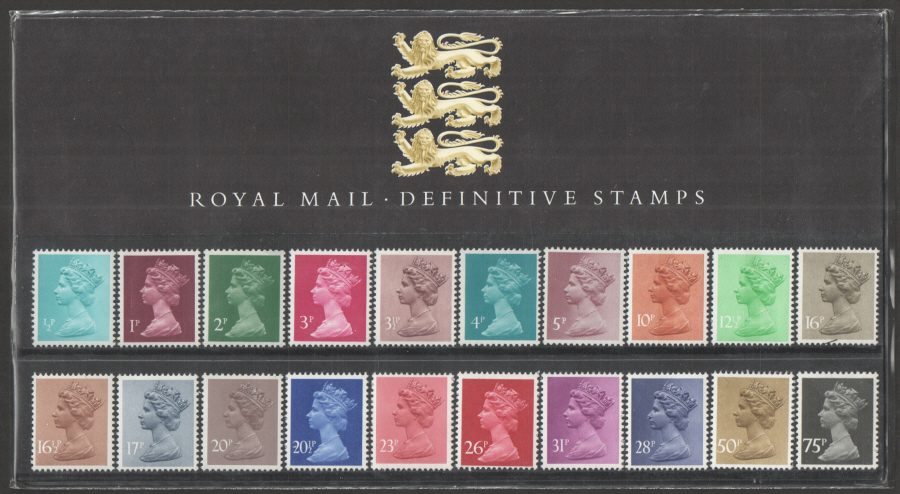 1983 Machin Definitive Royal Mail Presentation Pack 1