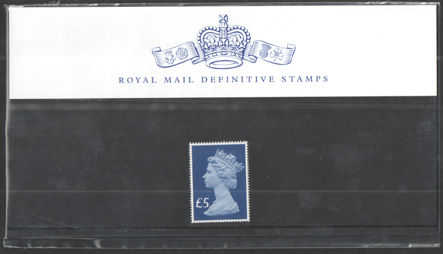 2017 £5 Machin Definitive Royal Mail Presentation Pack 105