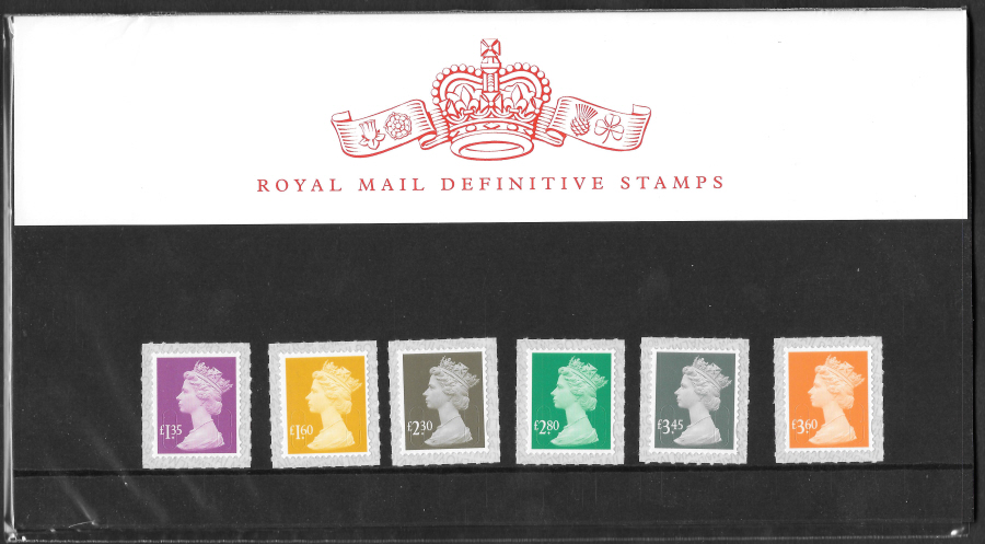 2019 Machin Definitive Royal Mail Presentation Pack 110