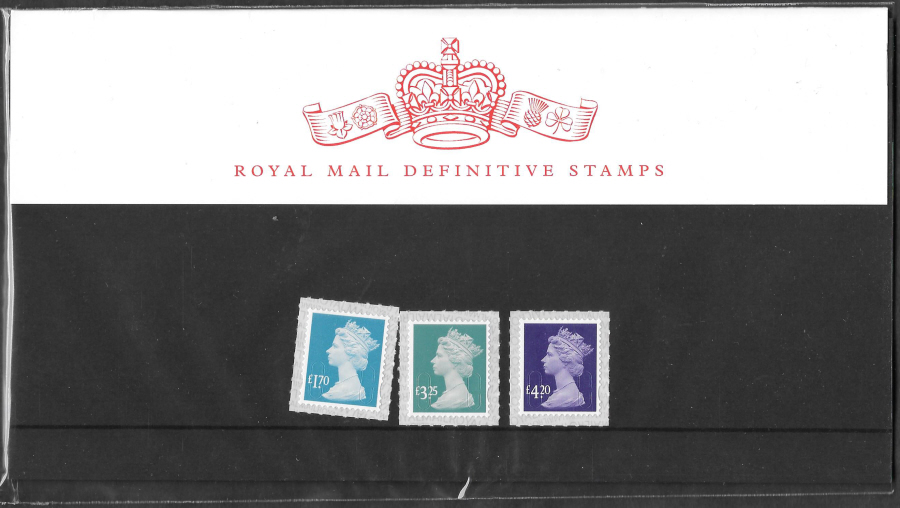 2020 Machin Definitive Royal Mail Presentation Pack 114