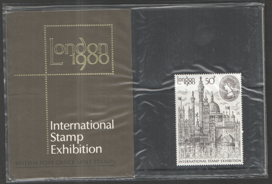 1980 London Stamp Exhibition Royal Mail Presentation Pack 117