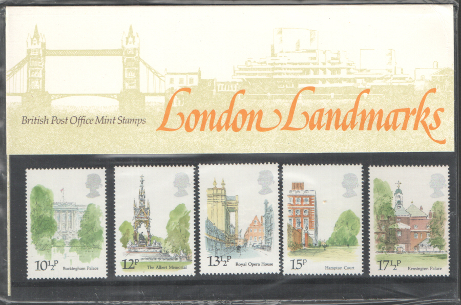 1980 London Landmarks Royal Mail Presentation Pack 118