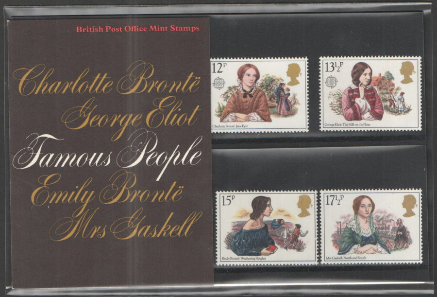 1980 Famous Authoresses Royal Mail Presentation Pack 119