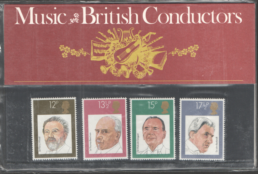 1980 British Conductors Royal Mail Presentation Pack 120