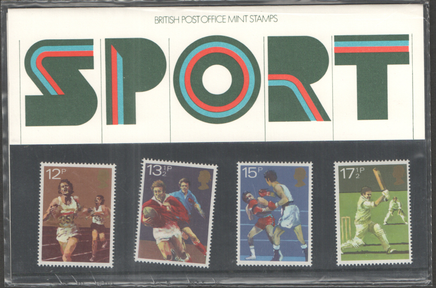 1980 Sport Royal Mail Presentation Pack 121