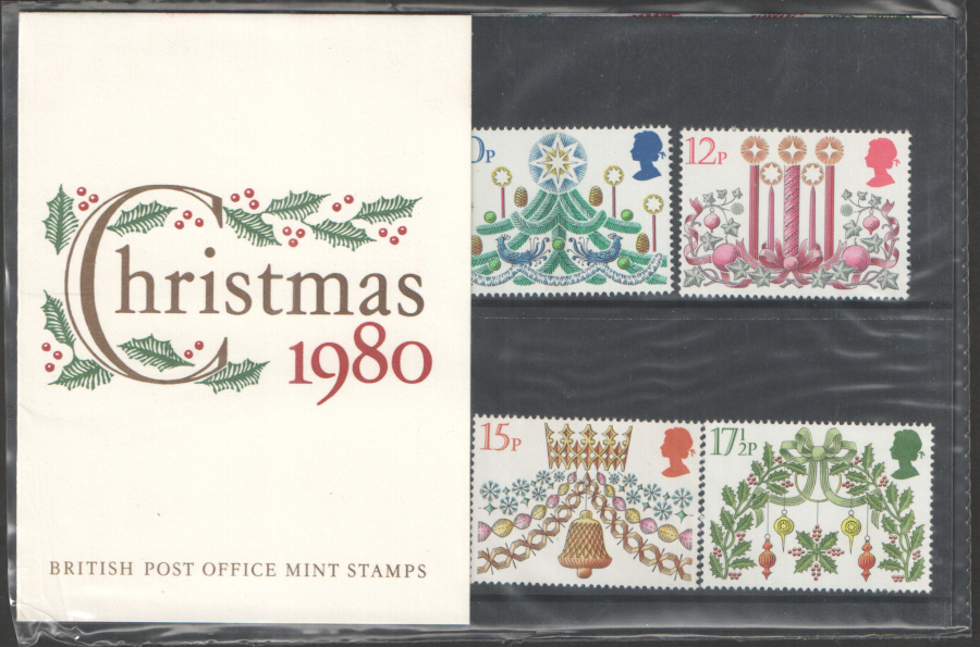 1980 Christmas Royal Mail Presentation Pack 122