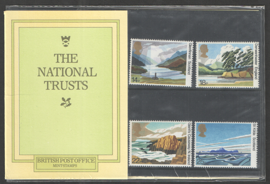 1981 National Trust Royal Mail Presentation Pack 127