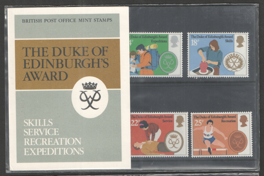 1981 Duke Of Edinburgh Award Royal Mail Presentation Pack 128