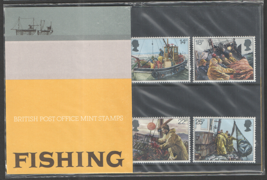 1981 Fishing Royal Mail Presentation Pack 129