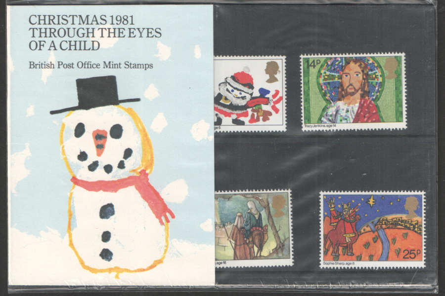 1981 Christmas Royal Mail Presentation Pack 130
