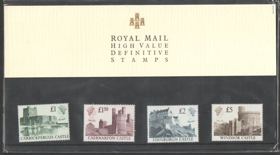 1988 Harrison High Value Castles Royal Mail Presentation Pack 18