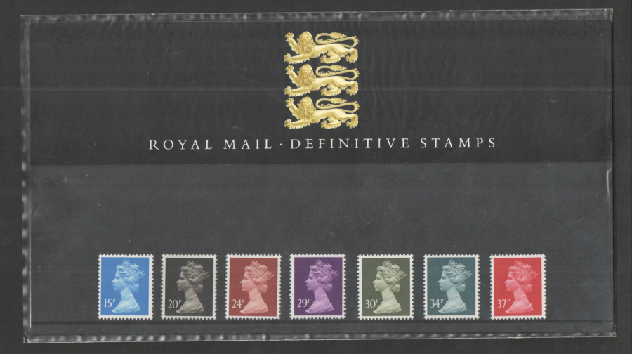 1989 Machin Definitive Royal Mail Presentation Pack 19