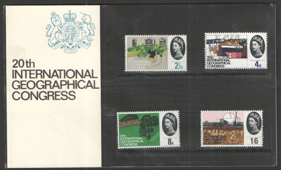 1964 Geographical Congress Presentation Pack