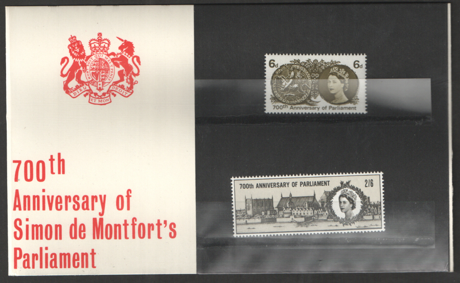 1965 Parliament 700th Anniversary Presentation Pack
