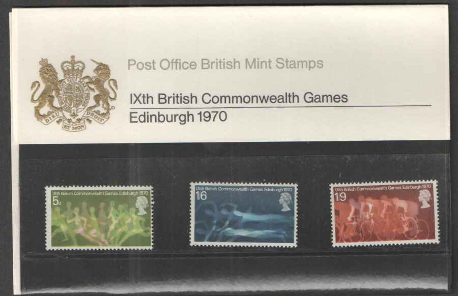 1970 Commonwealth Games Presentation Pack