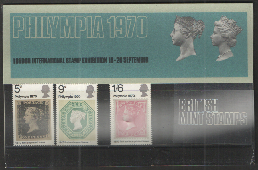 1970 Philympia Presentation Pack