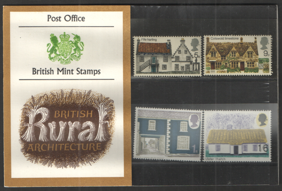1970 Rural Architecture Type A - One Tuft Presentation Pack