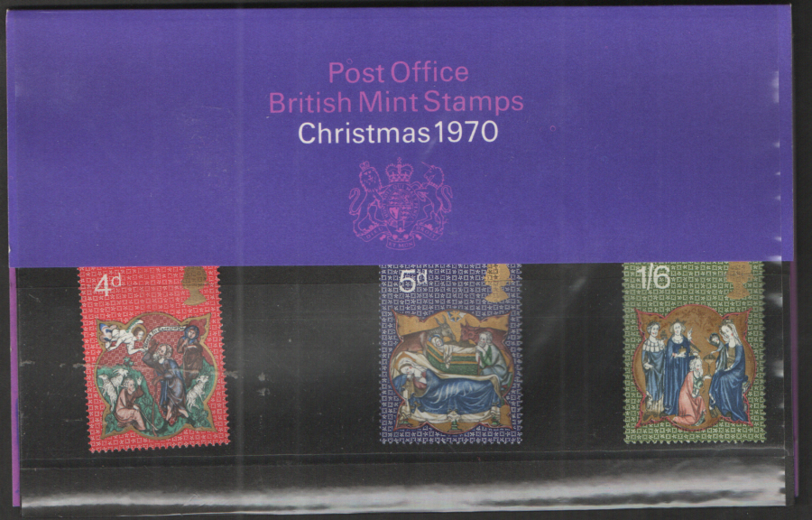 1970 Christmas Presentation Pack