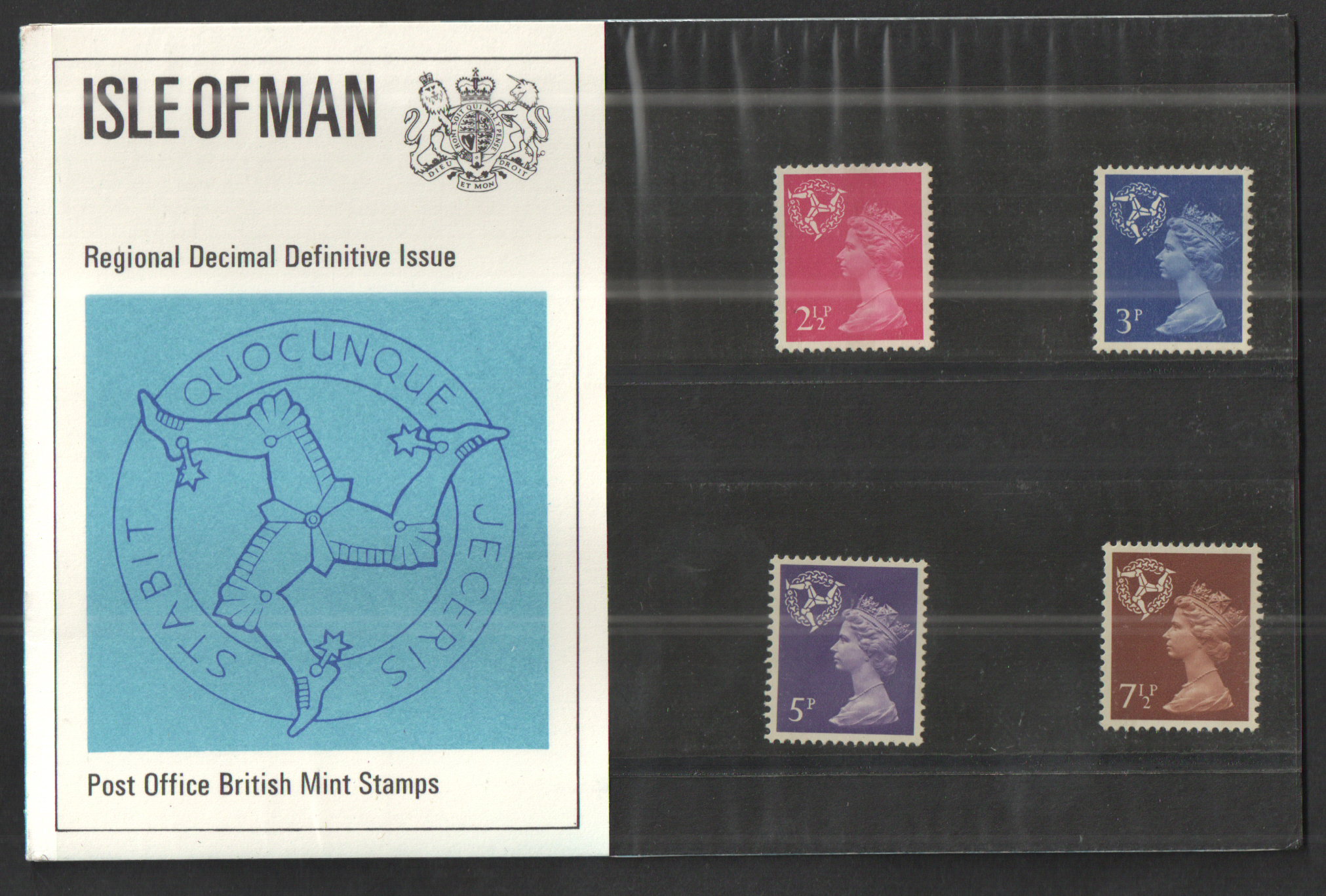 1971 Isle of Man Definitive Royal Mail Presentation Pack 30