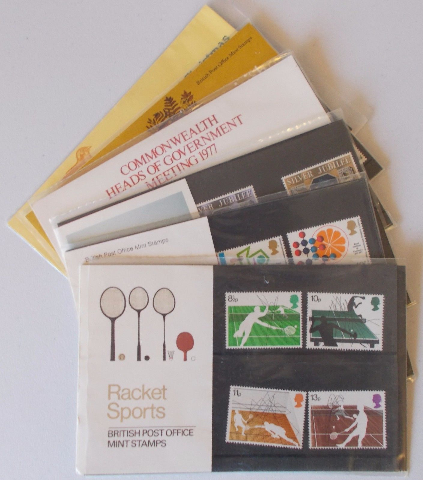 1977 Commemorative Presentation Pack Year Set
