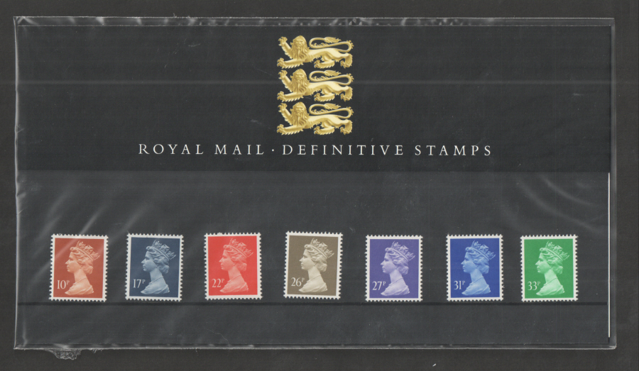 1990 Machin Definitive Royal Mail Presentation Pack 22