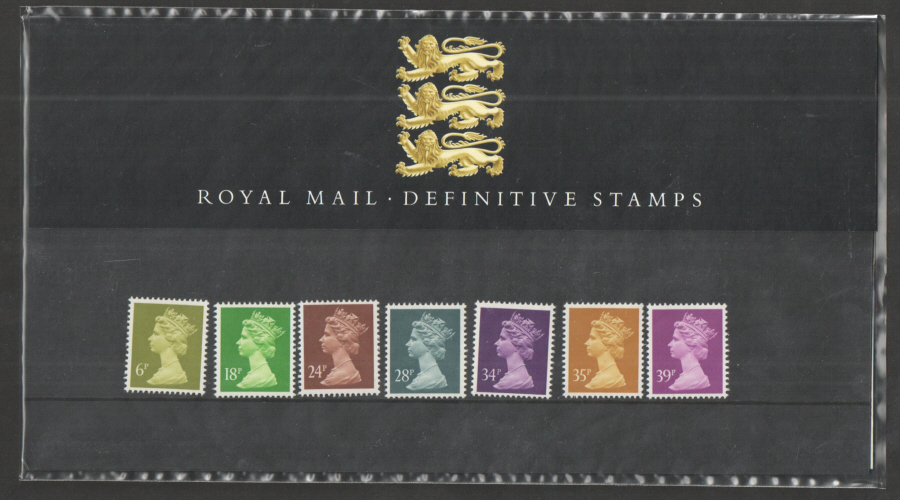 1991 Machin Definitive Royal Mail Presentation Pack 25