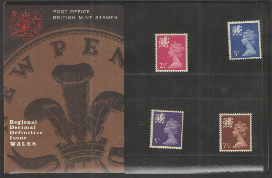 1971 Wales Definitive Royal Mail Presentation Pack 28