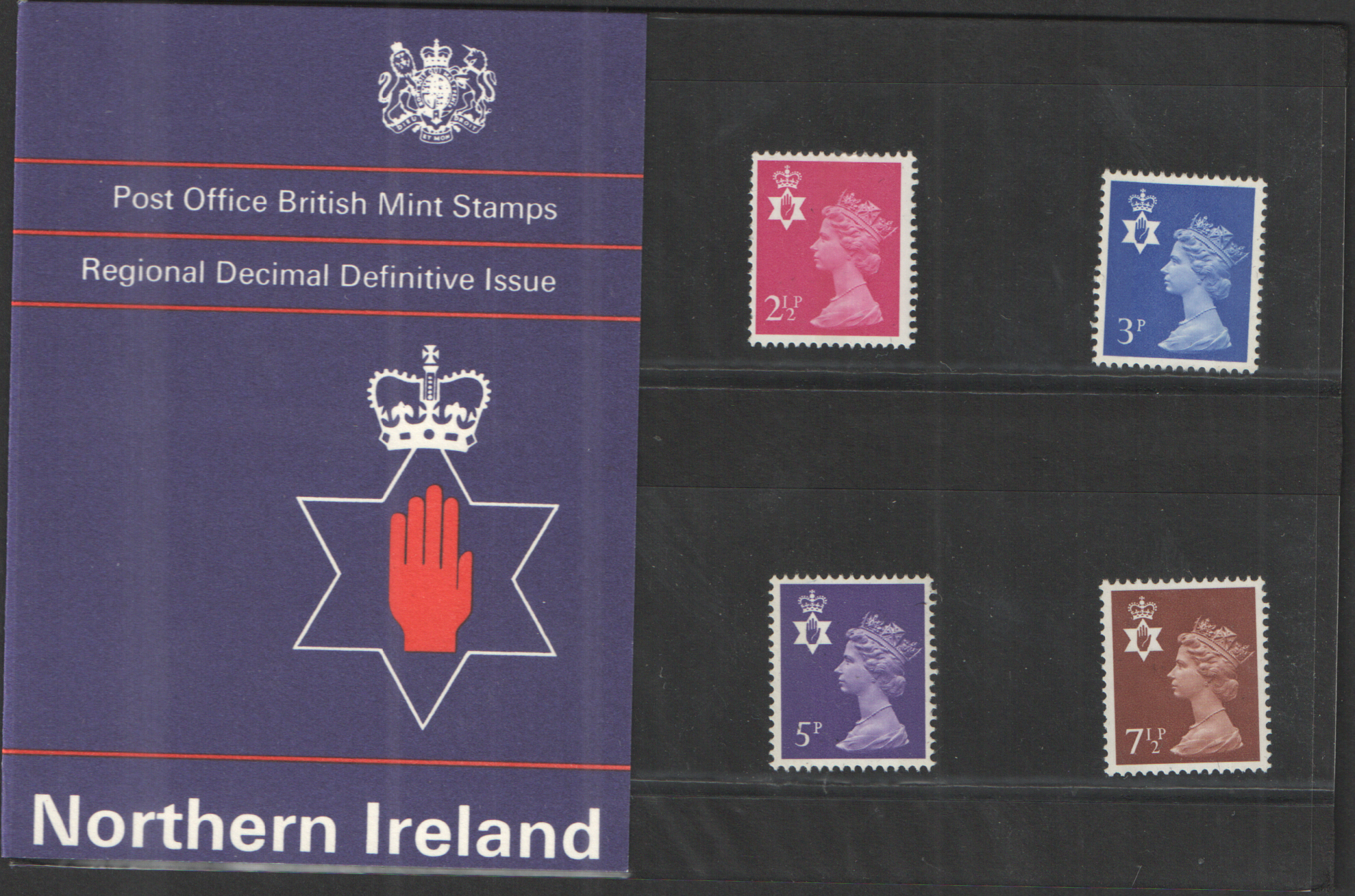 1971 Northern Ireland Definitive Royal Mail Presentation Pack 29