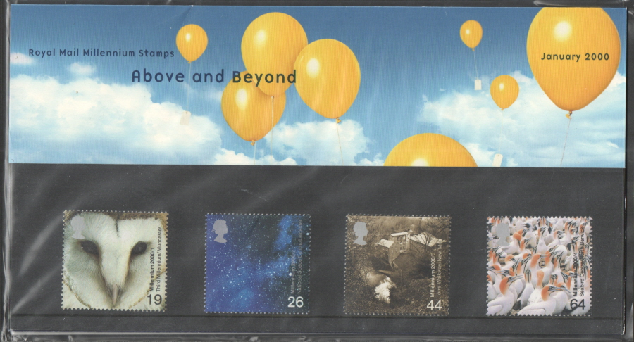 2000 Above & Beyond Royal Mail Presentation Pack 307