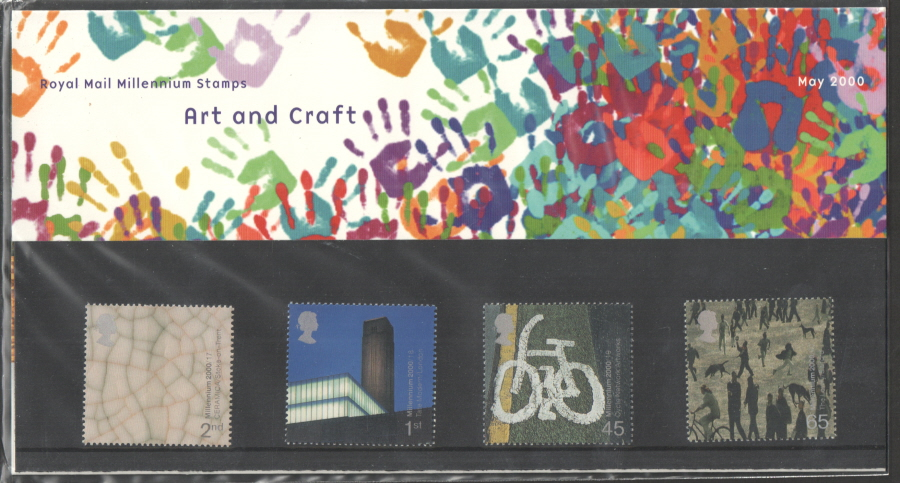 2000 Art & Craft Royal Mail Presentation Pack 311