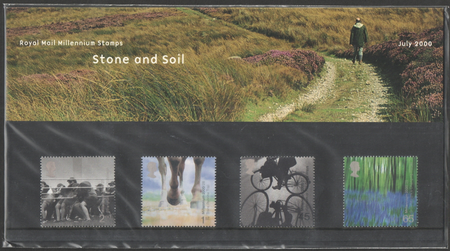 2000 Stone & Soil Royal Mail Presentation Pack 313