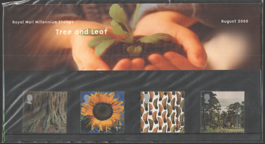 2000 Tree & Leaf Royal Mail Presentation Pack 314