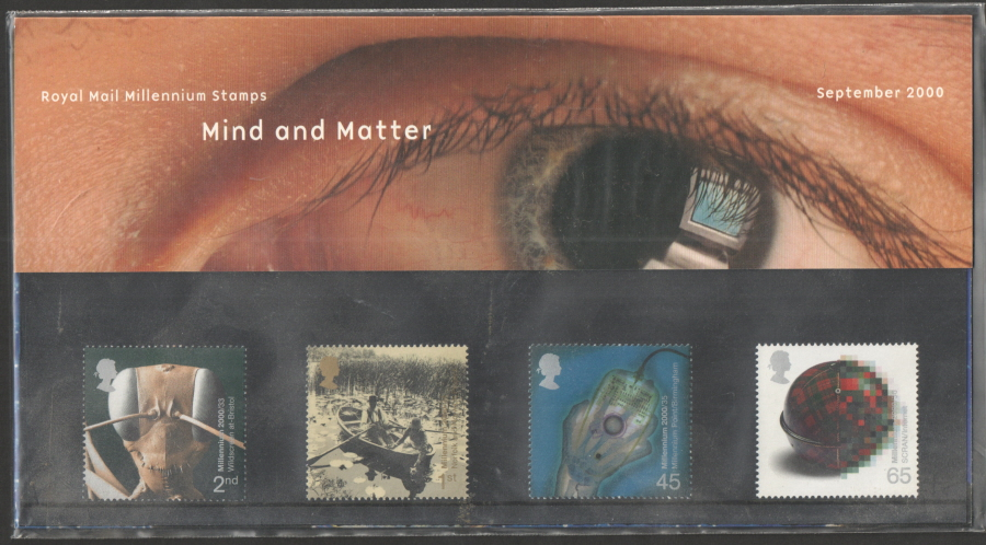 2000 Mind & Matter Royal Mail Presentation Pack 315