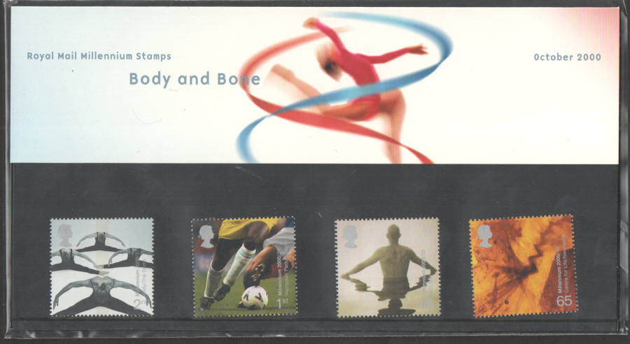 2000 Body & Bone Royal Mail Presentation Pack 316