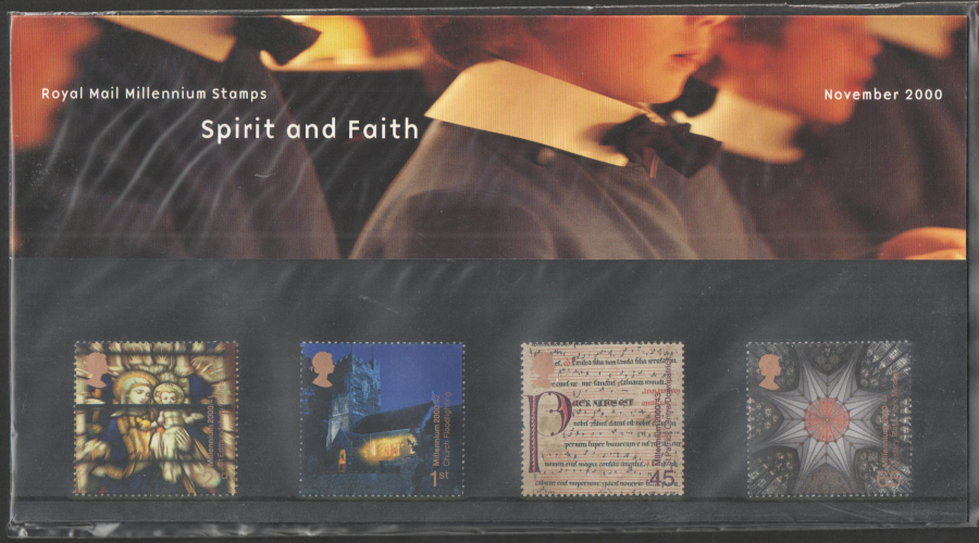 2000 Spirit & Faith Royal Mail Presentation Pack 317