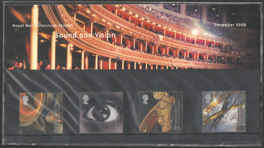 2000 Sound & Vision Royal Mail Presentation Pack 318