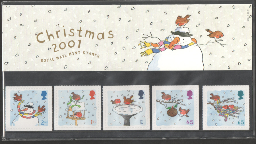 2001 Christmas Royal Mail Presentation Pack 328