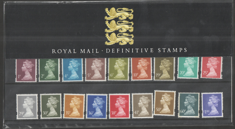 1995 Machin Definitive Royal Mail Presentation Pack 34