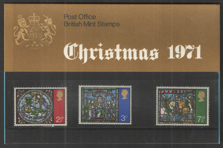 1971 Christmas Royal Mail Presentation Pack 35
