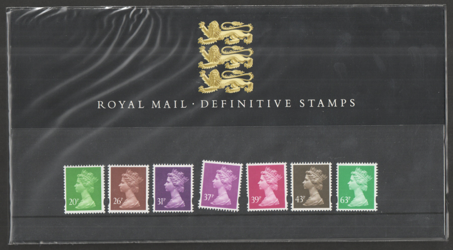1996 Machin Definitive Royal Mail Presentation Pack 35