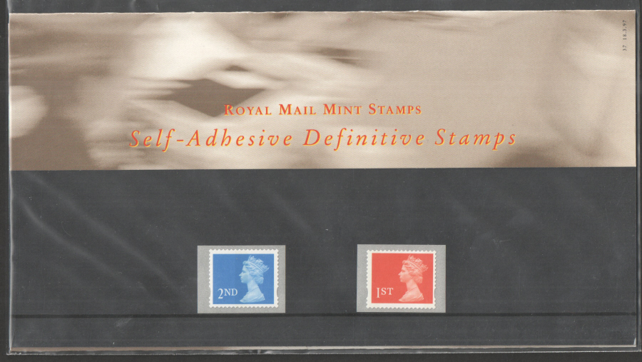 1997 Machin Definitive Royal Mail Presentation Pack 37